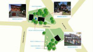 Plano complejo de aparts Altos de Ostende